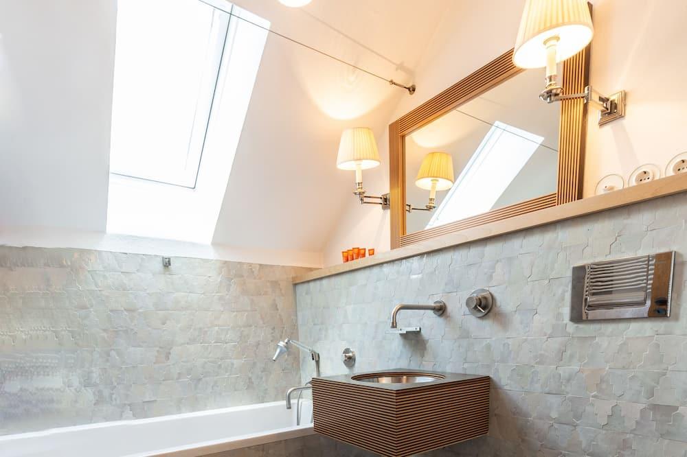 時尚獨棟房屋, 4 間臥室, 非吸煙房 (incl. 80 EUR cleaning fee per stay) - 浴室