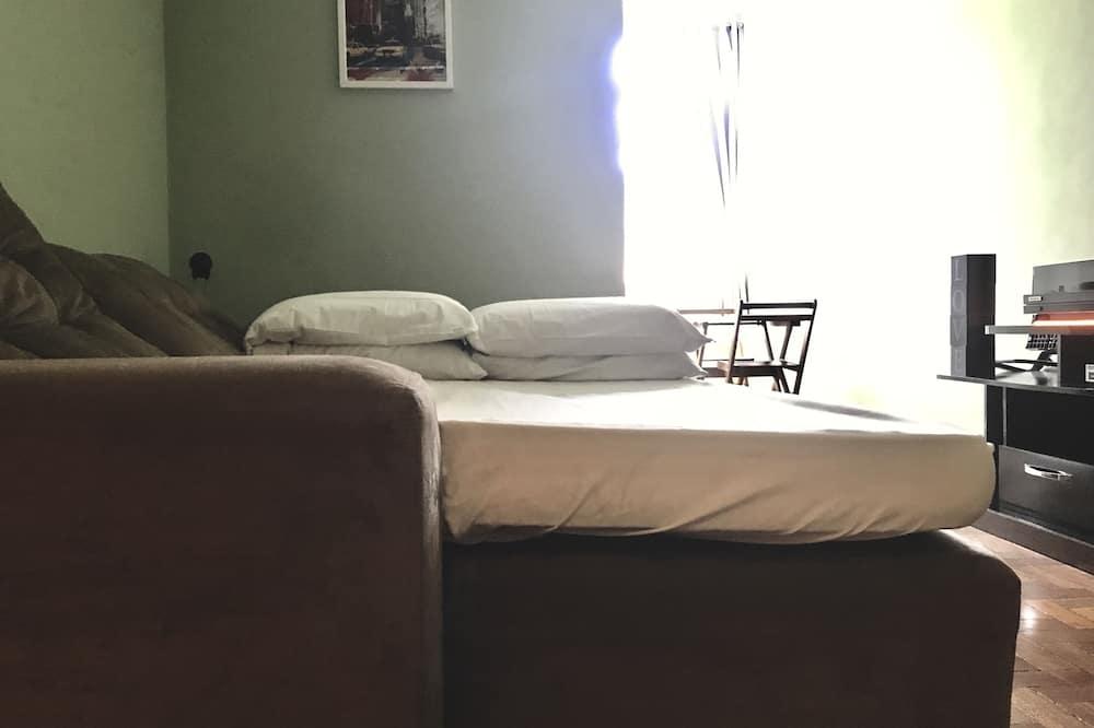 1 Quarto Standard em Apartamento Compartilhado - Living Room