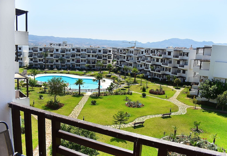 Mirador Golf Apart-hotel, M'diq, Terrasse/patio