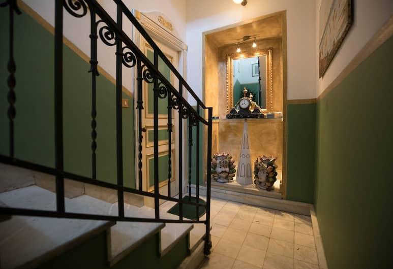 Cannatella's Mansion, Palerme, Escalier