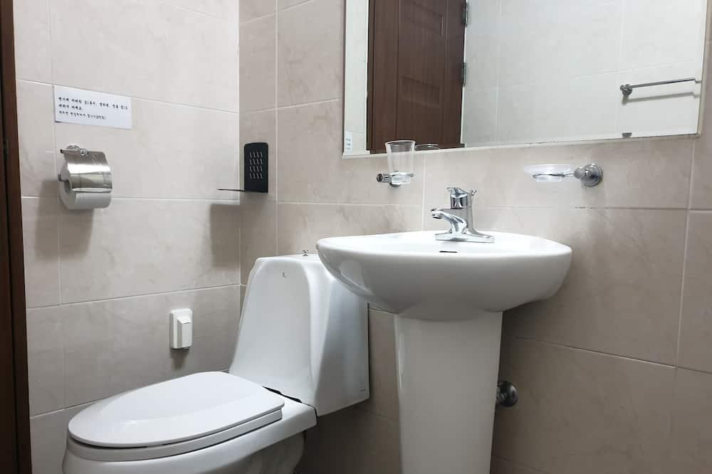 Family Room A (KRW10,000 surcharge for extra bedding) - Cuarto de baño