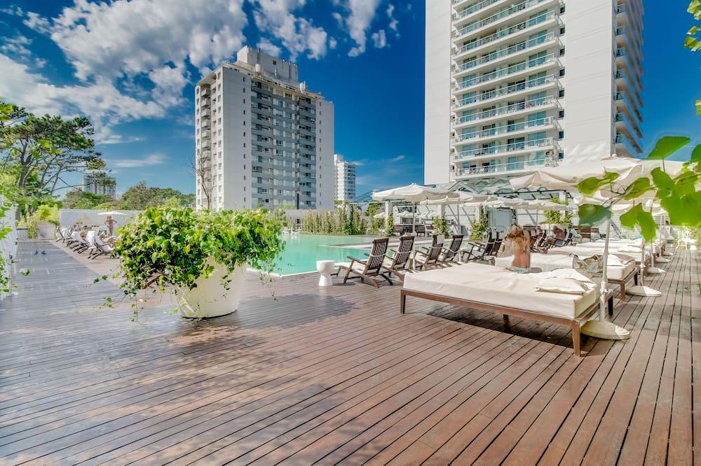 House, Multiple Beds, City View (YOO 202 Apto con piscina y gimnasio) - Outdoor Pool
