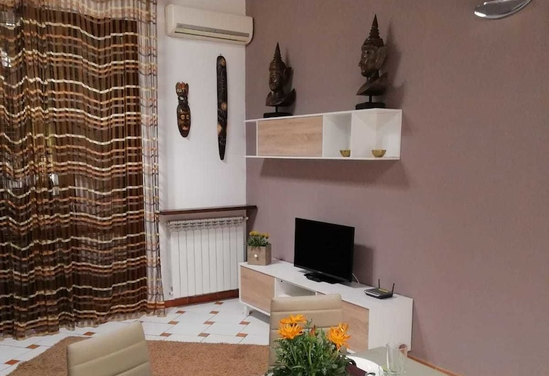 Casa Vacanza Nel Vicolo, Palermo, Appartement, 2 chambres, Coin séjour