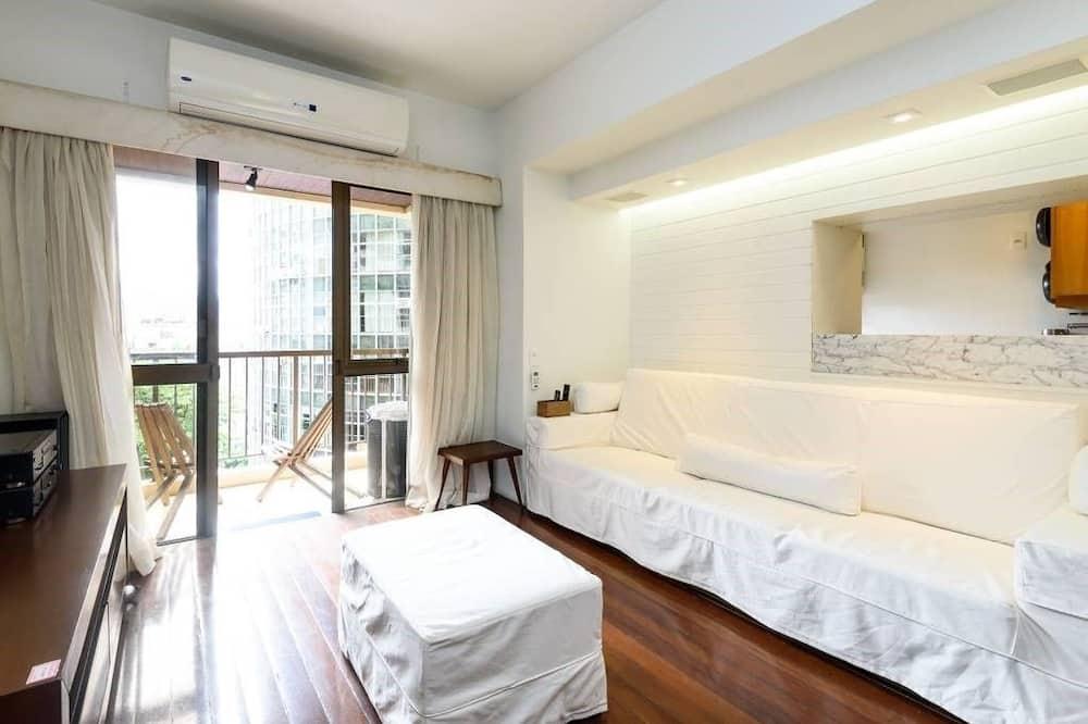 Superior Apartment, 2 Double Beds, Non Smoking - Living Area