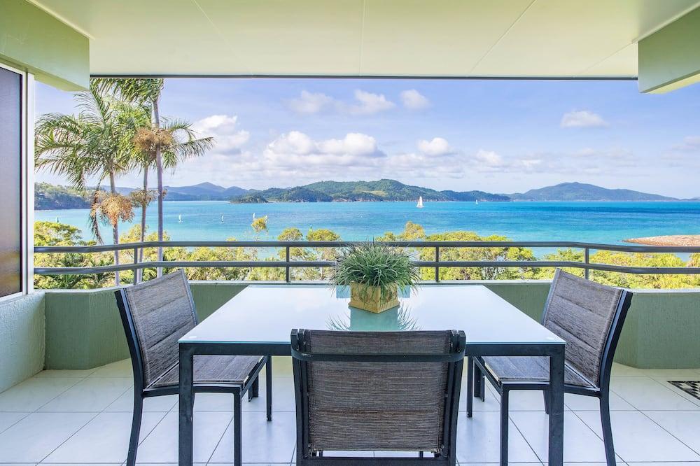 Apartament, 2 sypialnie, 2 łazienki, widok na morze - Balkon