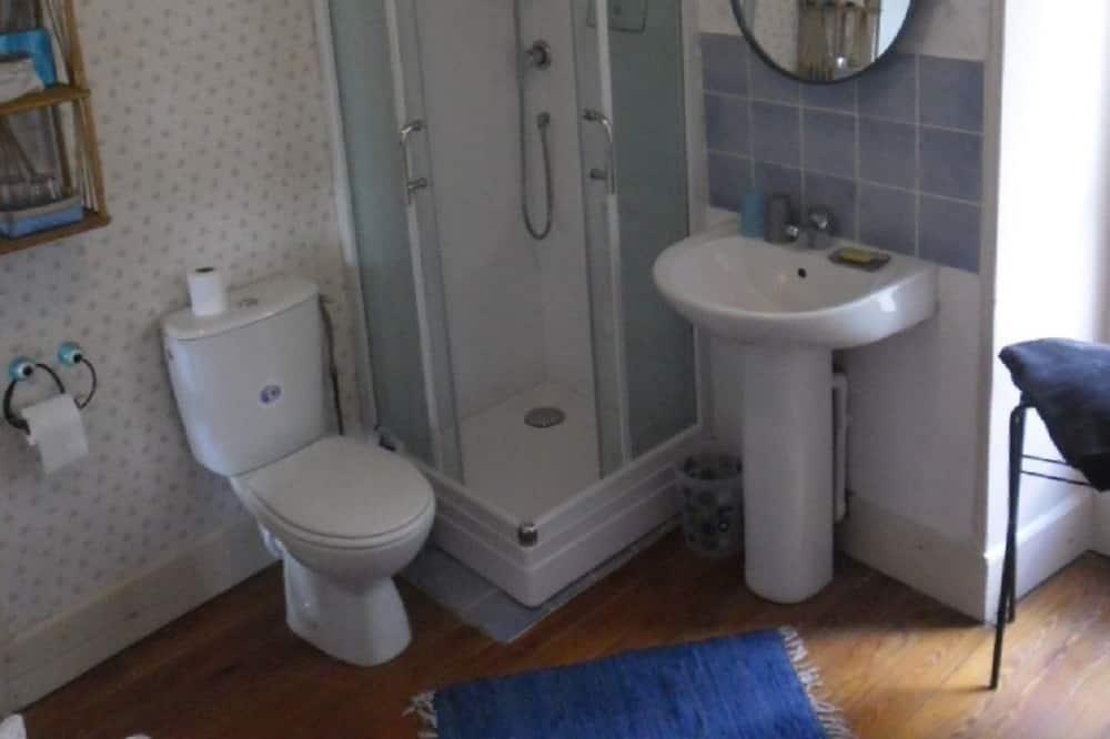 Doppelzimmer (Bleue) - Dusche im Bad
