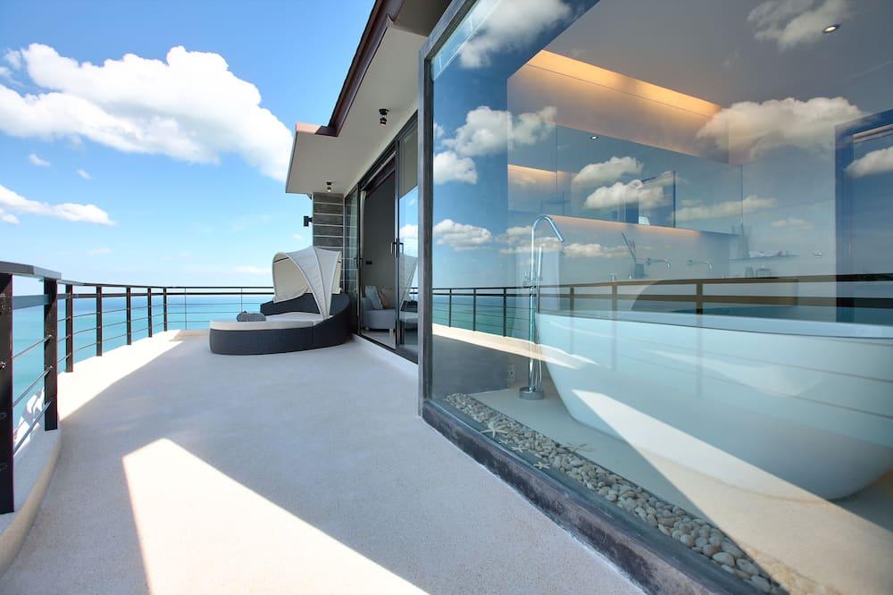 Luxury-Villa - Balkon