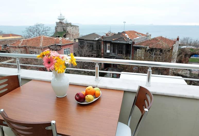 كلودي أبارت هوتل, إسطنبول, جناح سوبيريور - غرفة نوم واحدة - لغير المدخنين, شُرفة