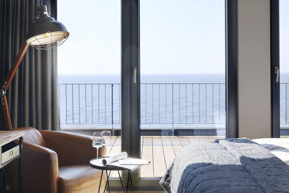 Двухместный бизнес-номер с 1 двуспальной кроватью, 1 спальня, вид на океан - Вид из номера