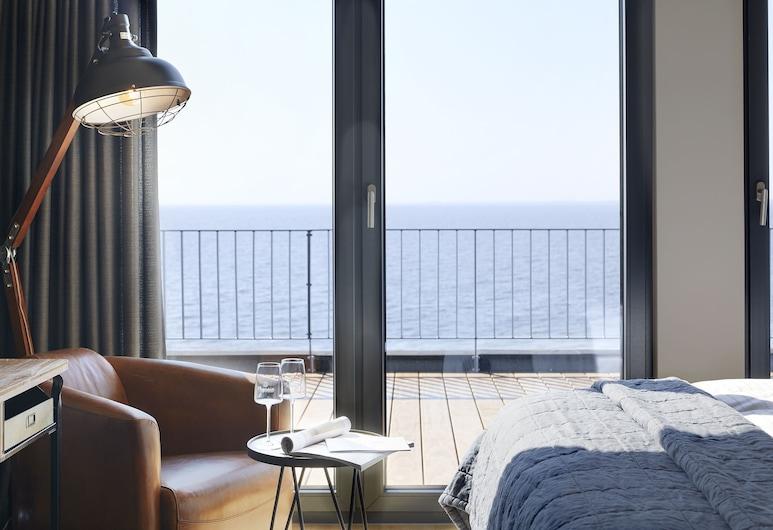 Hotel Fliegerdeich, Вильгельмсхавен, Двухместный бизнес-номер с 1 двуспальной кроватью, 1 спальня, вид на океан, Вид из номера