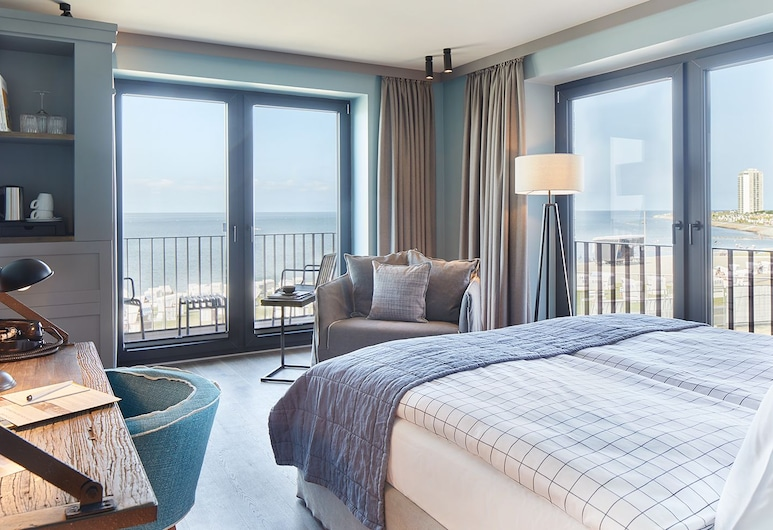 Lighthouse Hotel & SPA, Büsum, Superior Double Room, 1 Double Bed, Ocean View, Guest Room