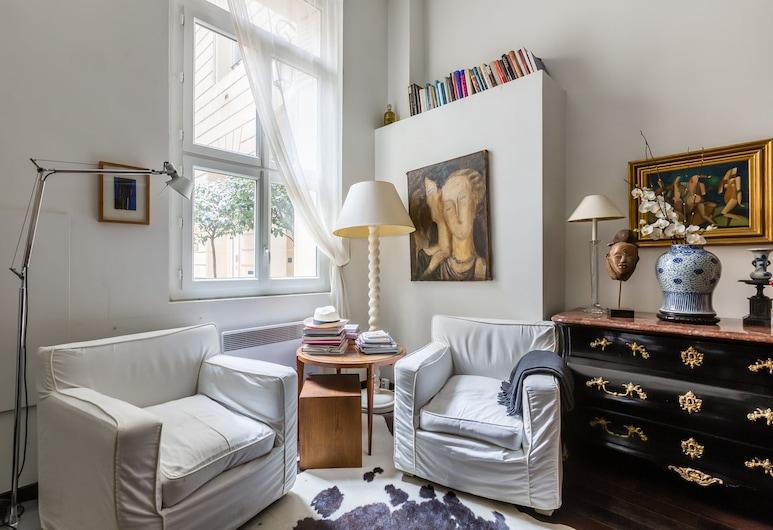 Heart of Saint Germain, Παρίσι, Διαμέρισμα, 2 Υπνοδωμάτια, Περιοχή καθιστικού
