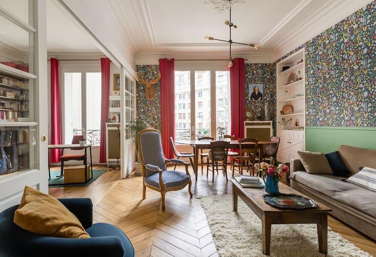 Republique in colour, Paris, Lägenhet - 2 sovrum, Vardagsrum