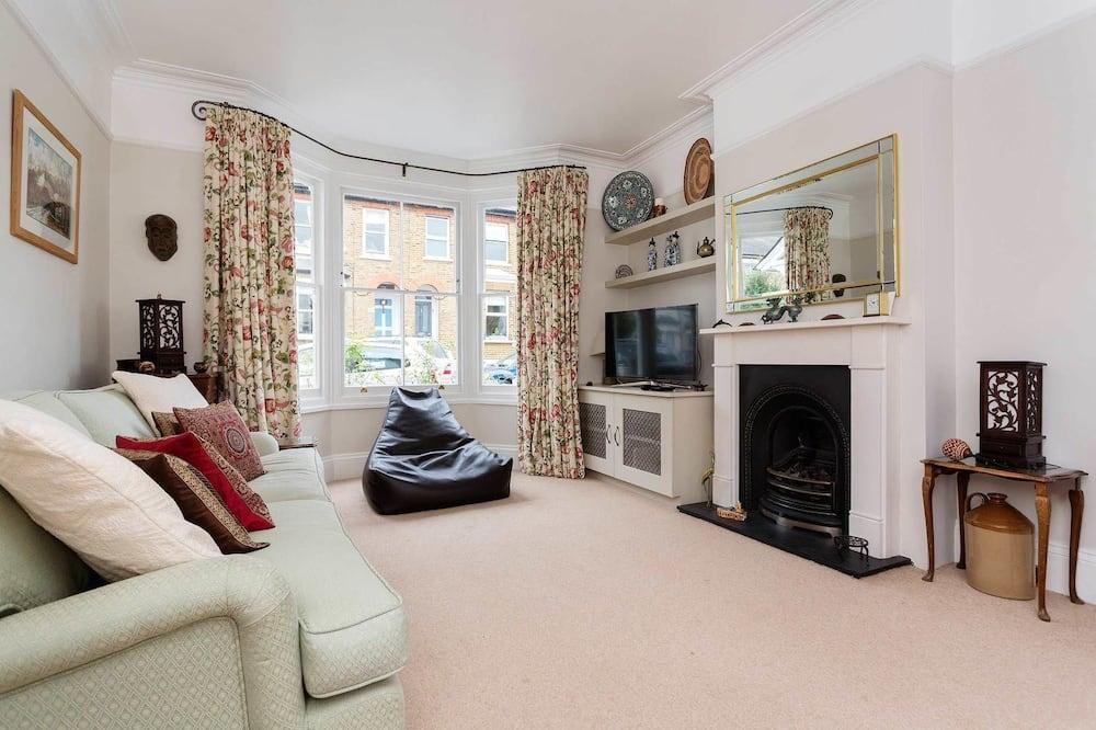 Casa, 2 Quartos - Área de Estar