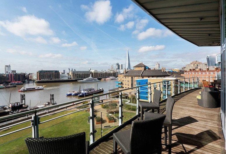 聖卡薩琳碼頭頂層房酒店, 倫敦, 公寓, 2 間臥室, 露台