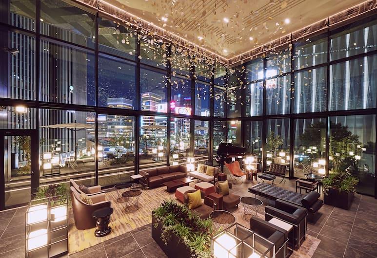 THE GATE HOTEL TOKYO by HULIC, Токио, Лаунж в вестибюле