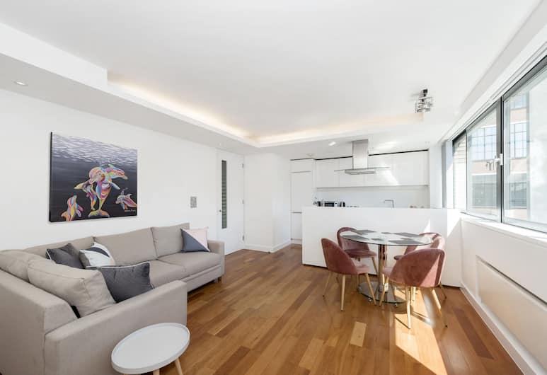 Old Street Shoreditch 1-bedroom flat, London, Apartemen Kota, 1 Tempat Tidur King dengan tempat tidur Sofa, non-smoking, Kamar