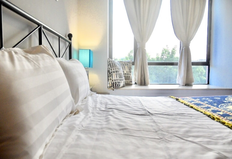 Guangzhou Ardrew Shared Homestay, Guangzhou, Design Suite, 2 Bedrooms, Kitchen, Garden View, Bilik
