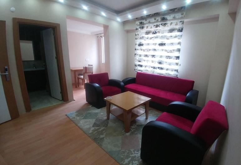 Cagri Otel, Ardahan, Comfort Apartment, 1 Bedroom, Smoking, Living Room