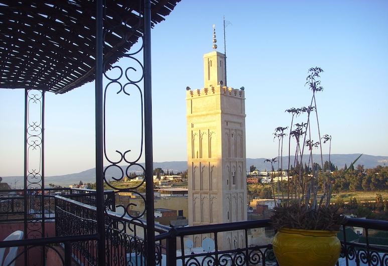Riad Menthe Et Citron, Mequinez, Vista desde el hotel