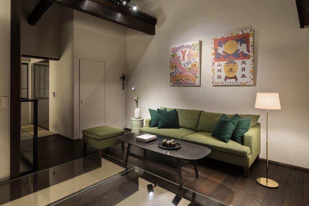 Luxury Sıra Ev, Sigara İçilmez - Oturma Alanı