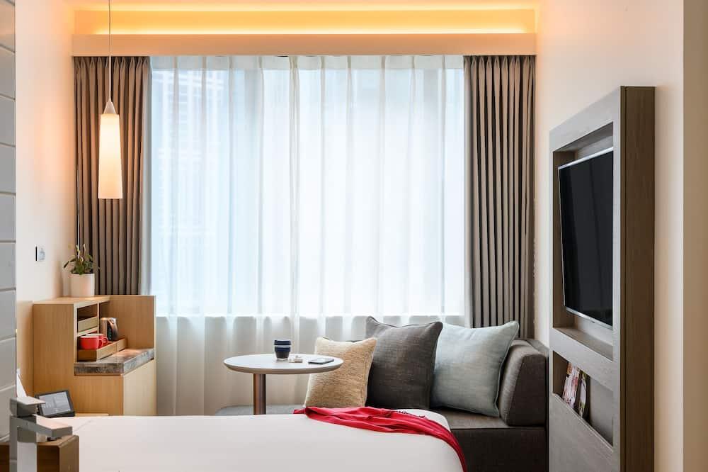 Улучшенный номер, 1 двуспальная кровать «Квин-сайз» с диваном-кроватью - Номер