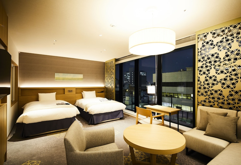 Hotel Intergate Hiroshima, Hirošima, Žemesnės liukso klasės numeris, Nerūkantiesiems, Svečių kambarys
