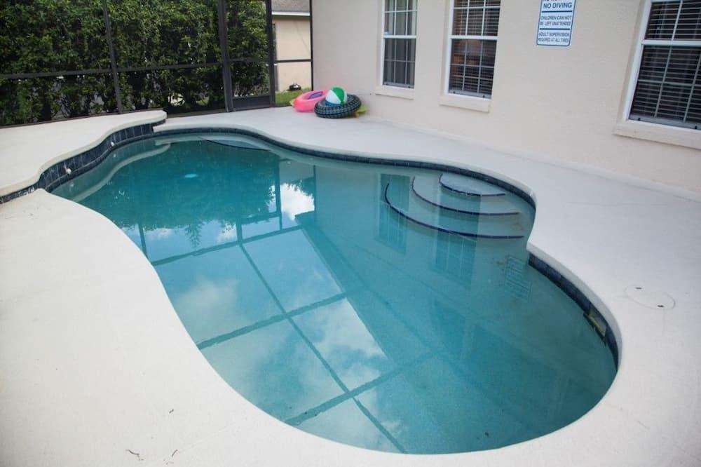 Rodinná vila, súkromný bazén, s výhľadom do záhrady - Vonkajší bazén