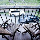舒適雙人房, 1 張特大雙人床, 山景 - 露台