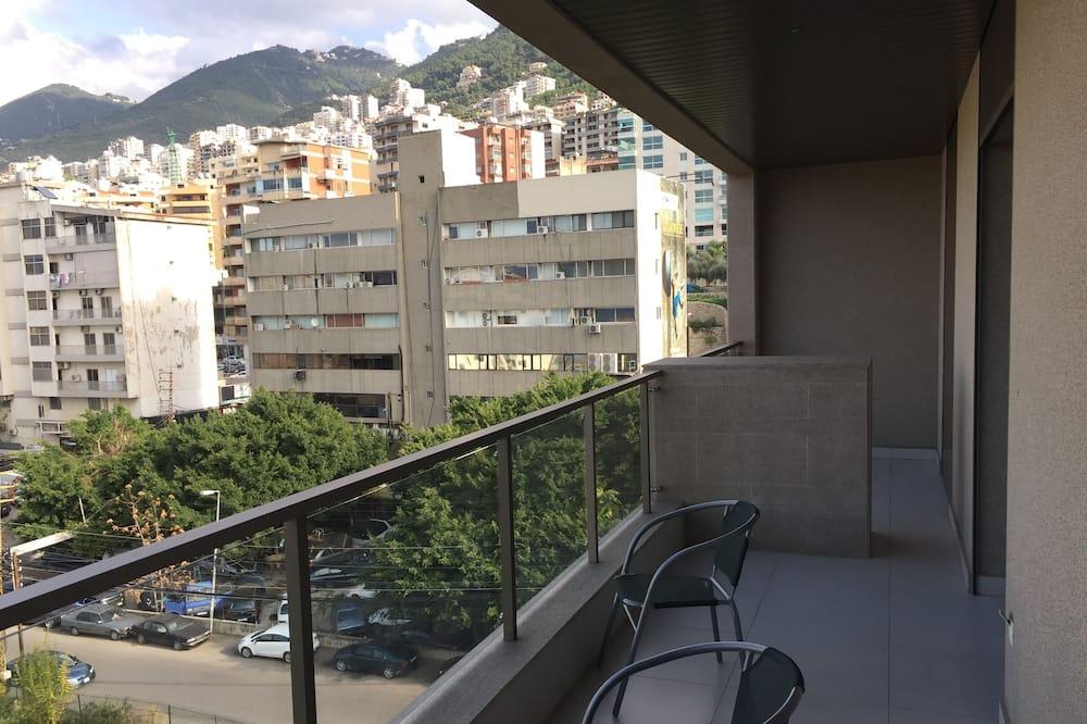 Apartamento Básico, 2 camas queen-size, Fumadores - Varanda