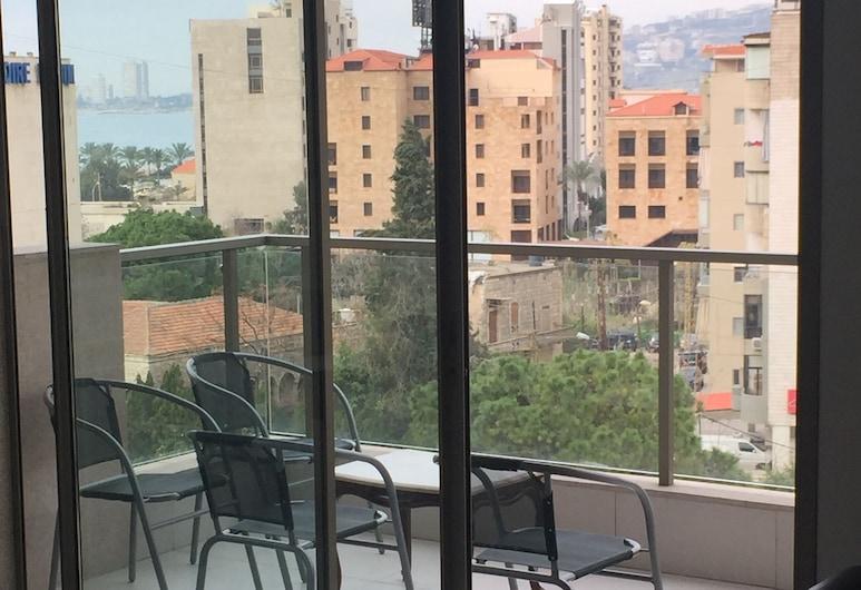 Residence Jarjoura, Jounieh, Basic-Apartment, Mehrere Betten, Raucher, Balkon