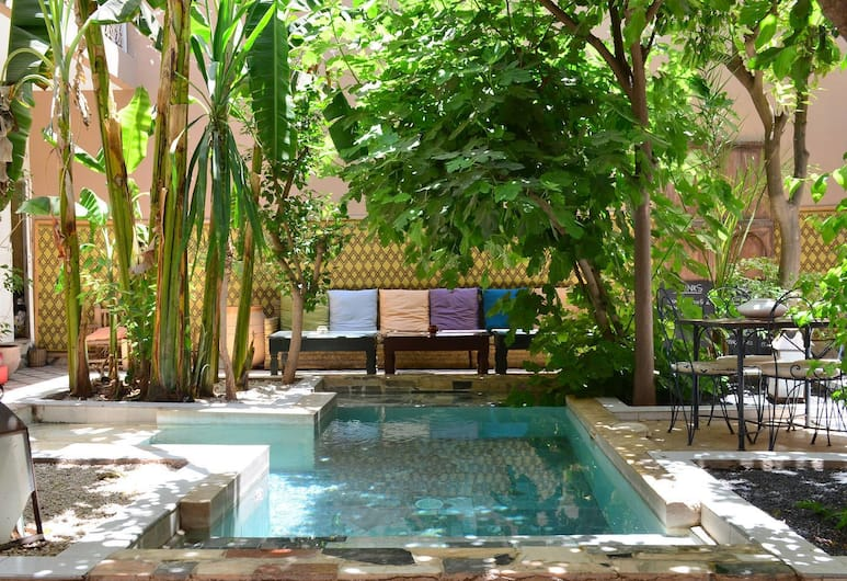 So Chic Riad, Marrakech, Piscine en plein air