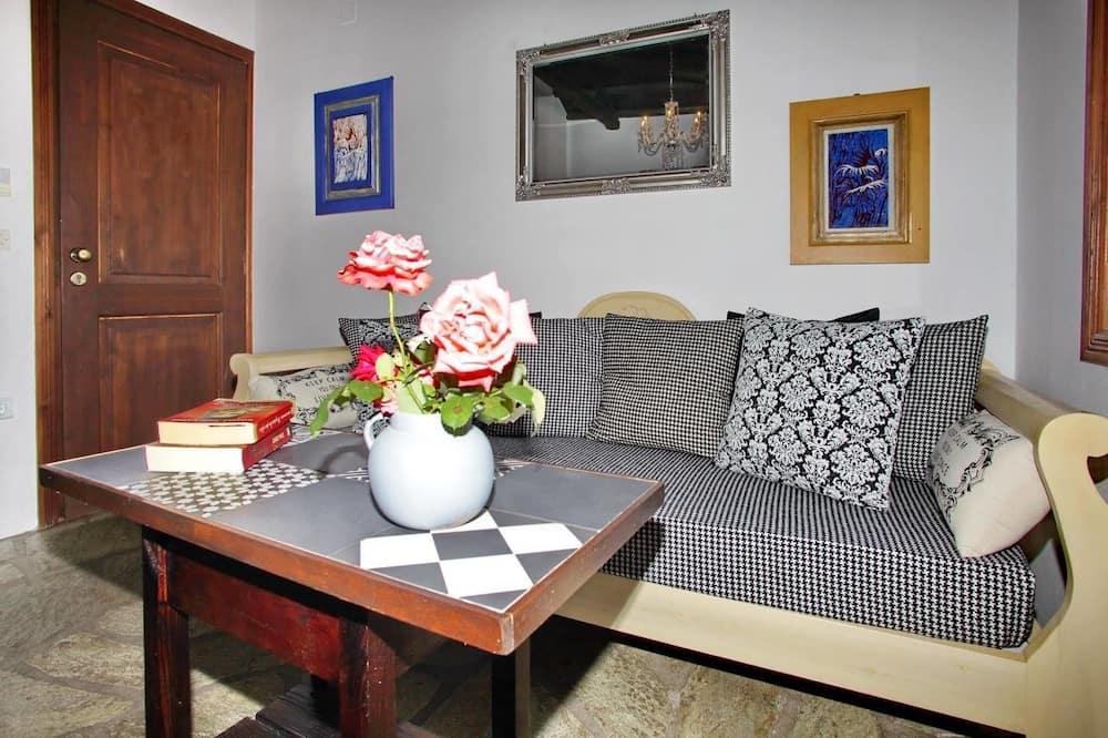 Superior Double Room, Balcony - Living Area