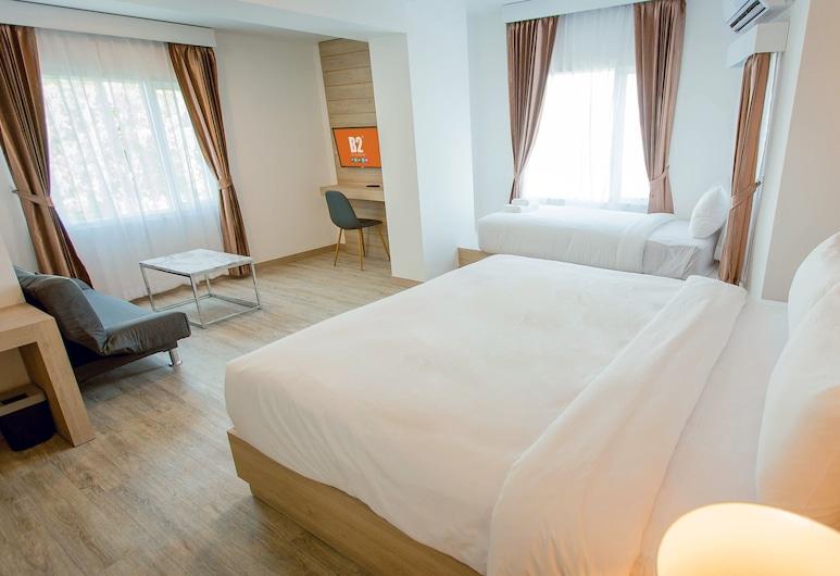 B2 Nakhon Sawan Premier Hotel, Nakhon Sawan, Suite junior, Varias camas, para no fumadores, Habitación