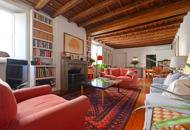 Farnese Charming Apartment, Rome, House, Multiple Beds, City View (Farnese Charming Apartment), Living Area