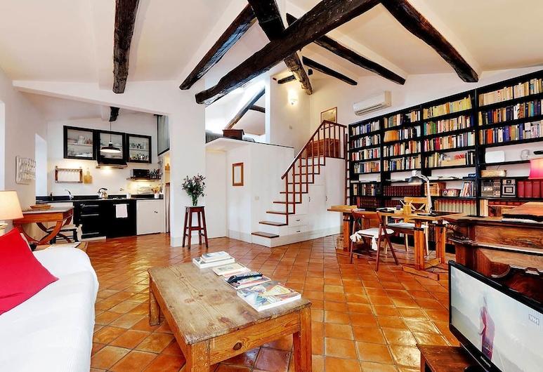 Trastevere Charming Loft, Rome, אזור מגורים