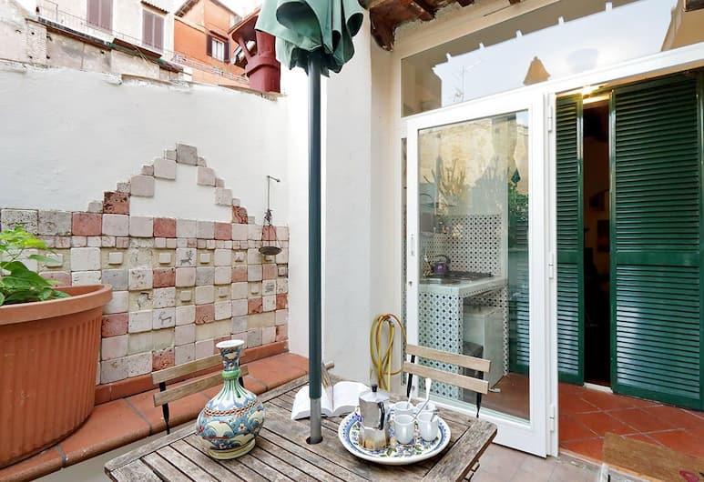Scala Charming Apartment, Rome, Terrazza/Patio