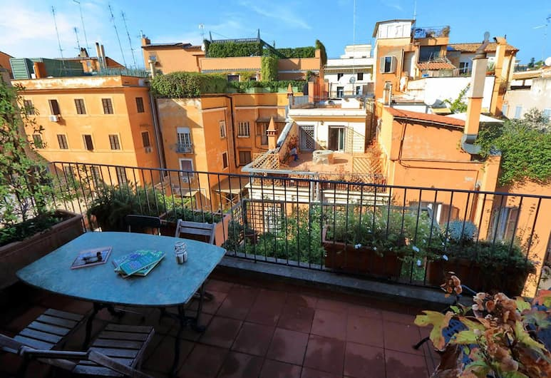 Trevi Comfortable Terrace Apartment, Rome, Appartement (2 Bedrooms), Balkon