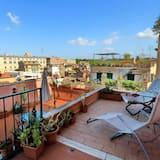 하우스, 더블침대 1개, 시내 전망 (Vicolo del Cinque Penthouse) - 발코니