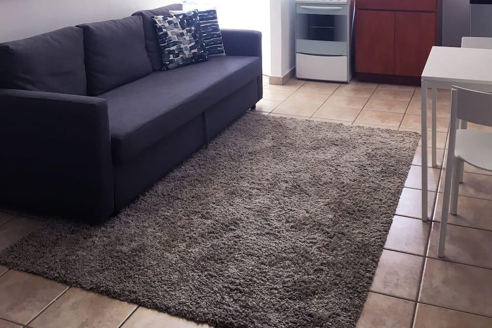 Апартаменти, 1 ліжко «квін-сайз» та розкладний диван - Житлова площа