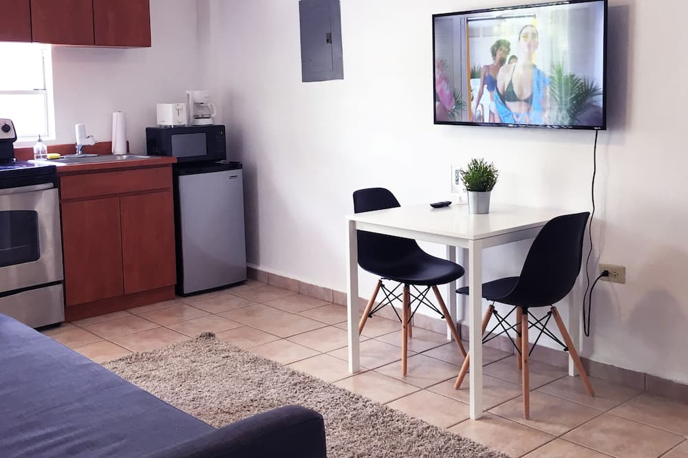 Dzīvokļnumurs, viena guļamistaba - Dzīvojamā zona