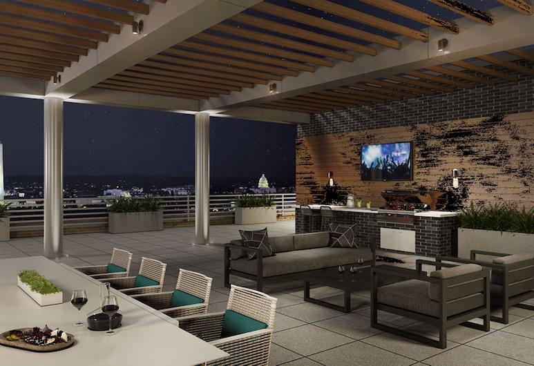 Global Luxury Suites Crystal City, Arlington, Terrasse/Patio