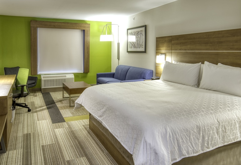 Holiday Inn Express And Suites Omaha Downtown - Airport, Omaha, Suite, 1 très grand lit, non-fumeurs, Chambre