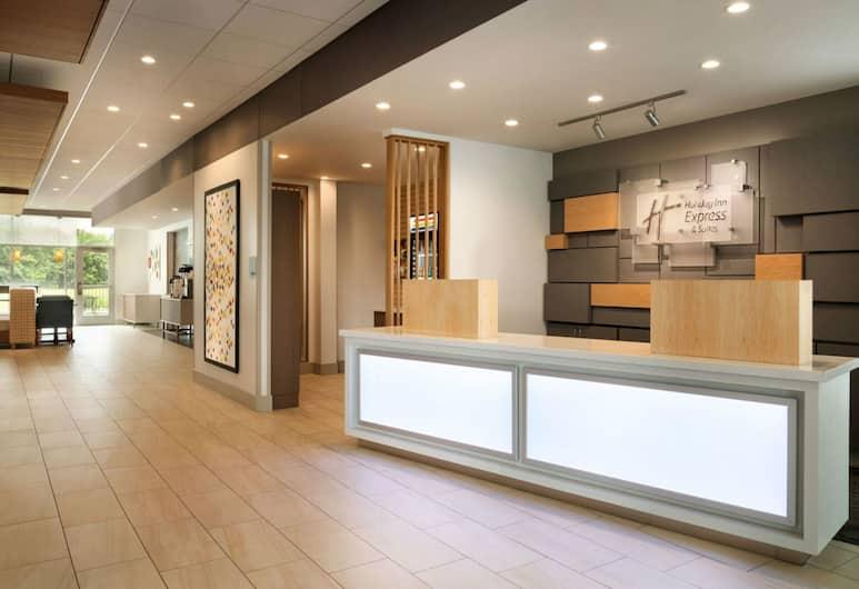 Holiday Inn Express And Suites Omaha Downtown - Airport, Omaha, Hotel belső tere
