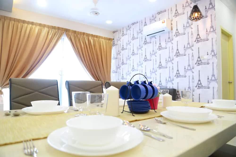 Enkeltværelse - Spisning på værelset