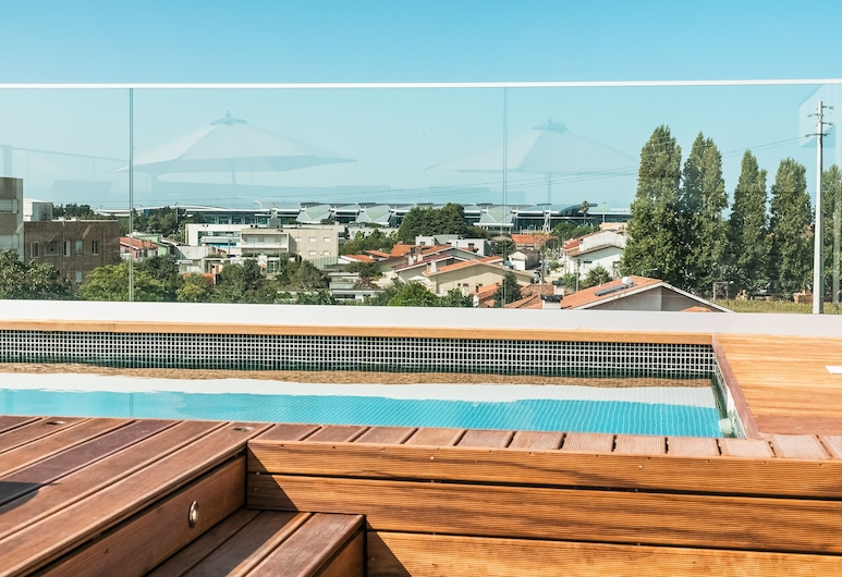 Oporto Airport & Business Hotel, Maia, Rooftop Pool
