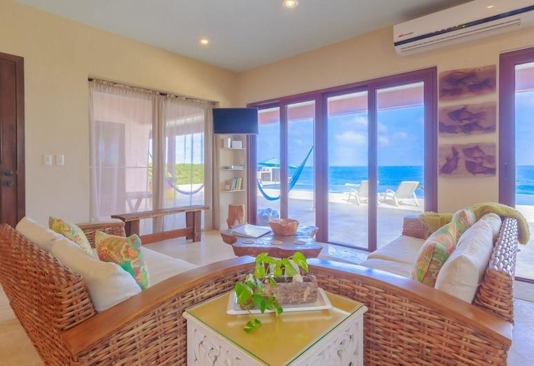 Casa Gemelos - 3 Bedroom, Isla Mujeres, Dom, Obývačka