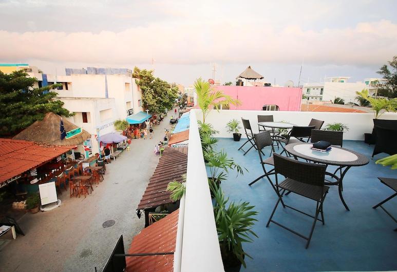Tres Mentiras Boutique Hotel Oaxaca, Isla Mujeres, Βίλα, Μπαλκόνι