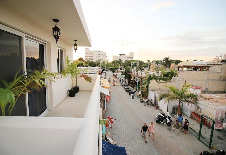 Tres Mentiras Boutique Hotel Jalisco, Isla Mujeres, Villa, Balcón