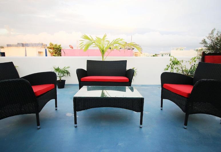 Tres Mentiras Boutique Hotel Jalisco, Isla Mujeres, Villa, Balkon